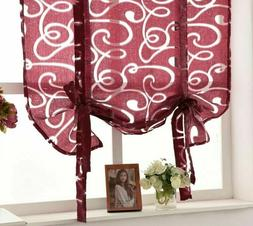 Roman Curtains Window Drapes Blinds Screens Butterfly Curtai