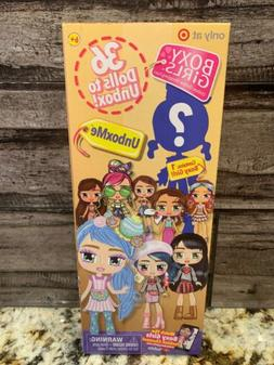 SEALED 1 Boxy Girls *UNBOXME* Blind Mystery Doll Pack 36 TAR
