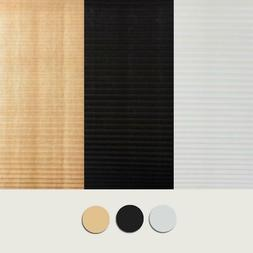 Self-Adhesive Pleated Blinds Half Blackout for Bathroom Wind