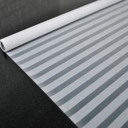 Self Adhesive Window Film Privacy Protection Blinds Pattern