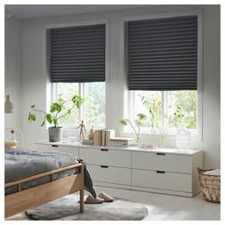 "Set of 2- Ikea SCHOTTIS Blackout Blind Dark Gray 39 1/4"" x 7"