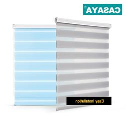 Shell Valance System Transparent Zebra <font><b>Blinds</b></