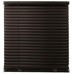 Single Touch Cordless 1 Inch Mini Blind in BROWN Choose Size