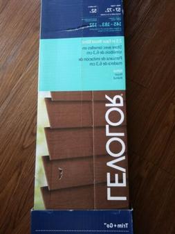 "LEVOLOR Trim+Go Cinnamon Bamboo Natural Shade 60""x64"". Cut t"