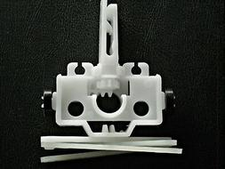 Vertical Blind Parts - Carrier with Stem  Video on Stem Repl