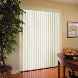 Vertical Blinds 78 x 84 Light Filtering Wide Window Patio Sl