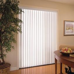 "Vertical Blinds 78"" x 84"" Light Filtering Wide Window Patio"