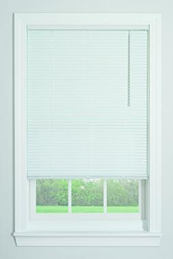 "New Bali 1"" Cordless Vinyl Blinds - White 36"" x 64"""