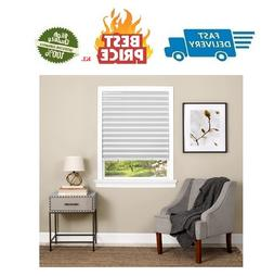 Vinyl Window Blinds Black Out Pleated 36 X 75 Inch Sun Shade