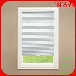 Hampton Bay White  1 in. Room Darkening Vinyl Blind 45 7/8""