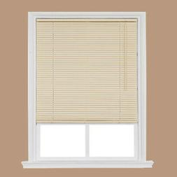 Home Basics Window Blind Cordless Room Darkening Vinyl Mini