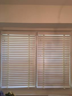 WINDOW BLINDS 2 INCH WOODEN FROM SELECT BLINDS BRAND NEW SET