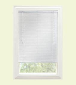 "Window Blinds Premium Mini Blind 1"" & 1 3/8"" Slat Vinyl/Alum"