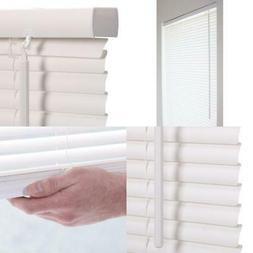 Window Mini Blinds 36 x 64 Alabaster Vinyl Cordless Shades C