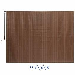Window Sun Shade Blind Roller Roll Up Exterior Cordless Pati