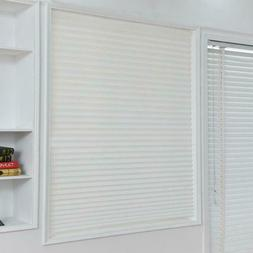 Windows Curtains Self-Adhesive Pleated Blinds Half Blackout